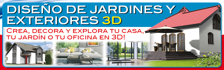 Finson dise o de jardines y exteriores 3d para windows for Diseno jardines exteriores 3d gratis